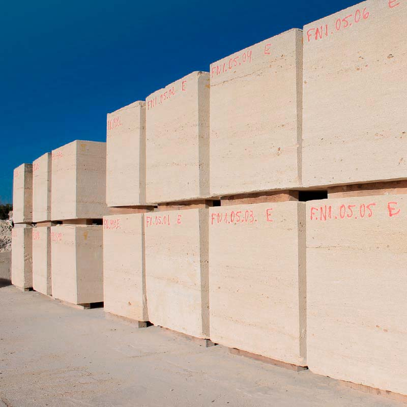 bloques de arenisca piedra natural Albamiel